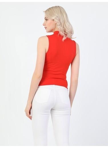 Colin's Slim Fit Kadın Kırmızı Atlet Kırmızı